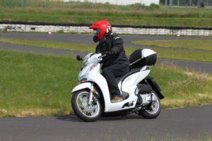 Die SH300i von Honda.