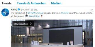 NATO auf Twitter.