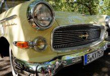 Ein alter Opel in seiner ganzen Pracht.