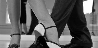 Tanzschritte.