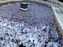 Mekka während des Haddsch.