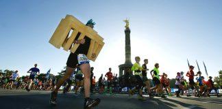 Marathon in Berlin.
