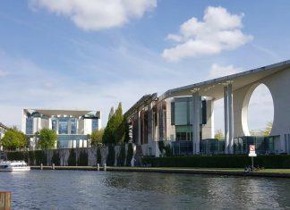 Das Kanzleramt in Berlin.