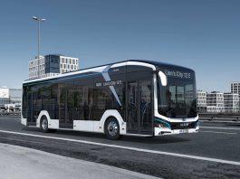 Ein MAN Lion`s City E-Bus.