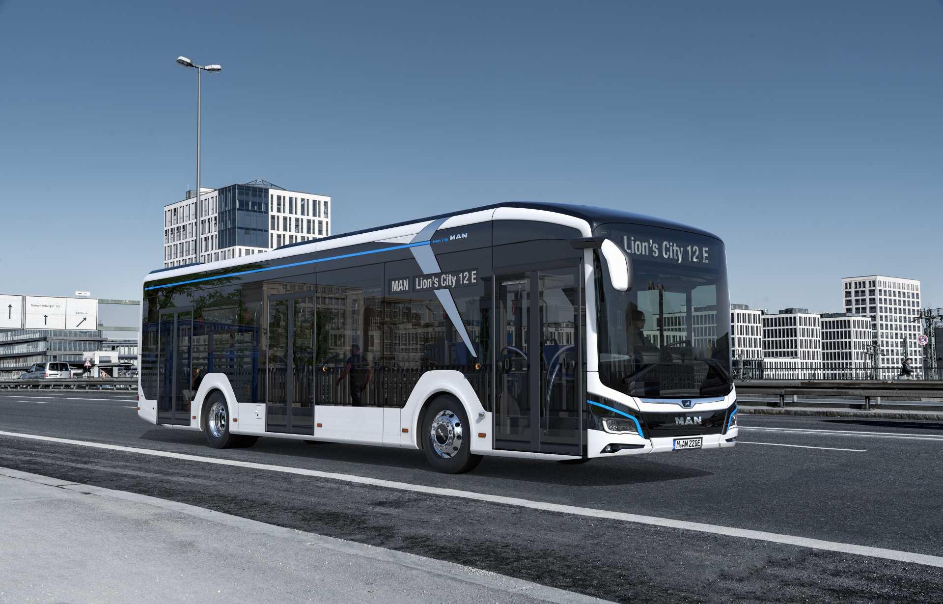 der neue man lion s city e bus und cng auf der iaa nutzfahrzeuge 2018 in hannover. Black Bedroom Furniture Sets. Home Design Ideas