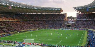 Das Berliner Olympiastadion beim WM-Finale 2006.