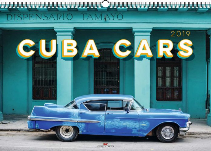 Cuba Cars 2019, der Kalender aus dem Verlag Delius Klasing.