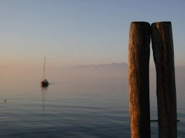 Am Gardasee in Italien.