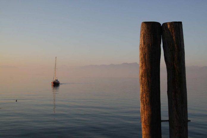 Am Gardasee in Italien.