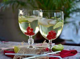 Kühler Cocktail.