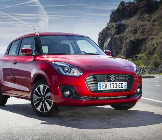 Der Suzuki Swift 2018.