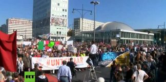 Unteilbar-Demonstration