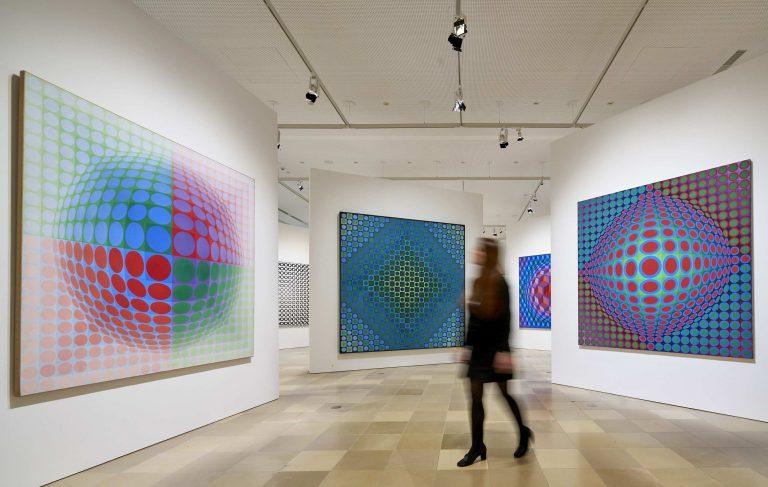 Städelmuseum und Centre Pompidou würdigen das Werk von Victor Vasarely in einer Retrospektive