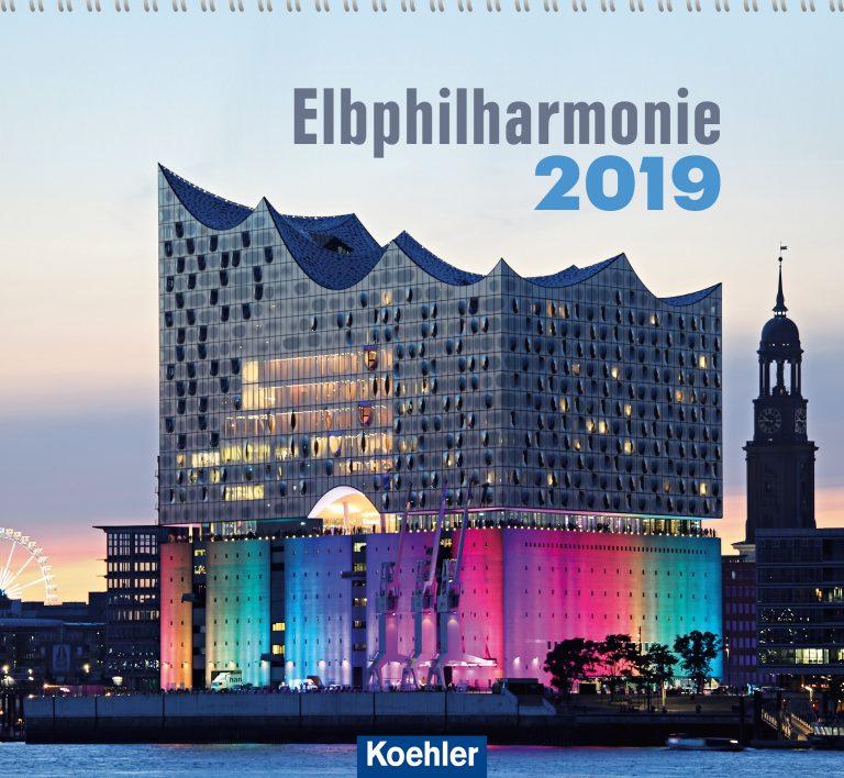 """Ein Dutzend Bilder von der Elphi – Zum Postkartenkalender """"Elbphilharmonie 2019"""" von Michael Pasdzior"""