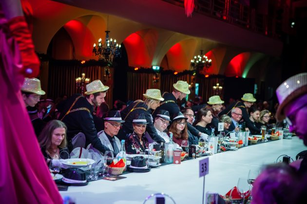 Passion, die Dinnershow im Winter 2018 in Leipzig.