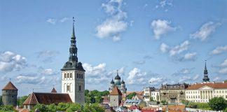 Ein Blick auf Tallinn.