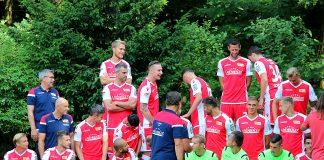 Mannschaftsfoto 1. FC Union Berlin im Sommer 2018