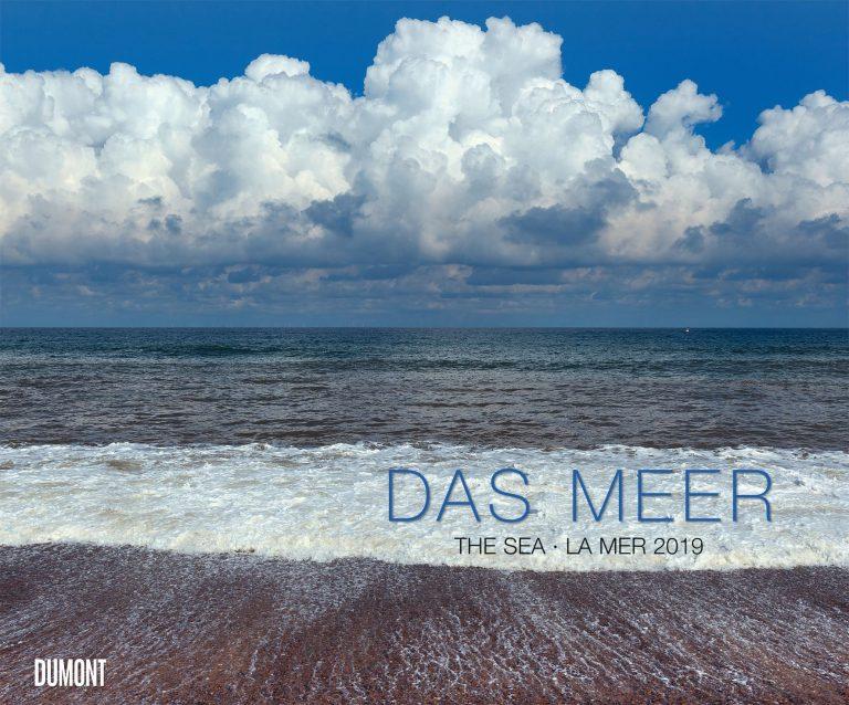 Das Meer auf zwölf Seiten in einem Fotokunst-Kalender 2019