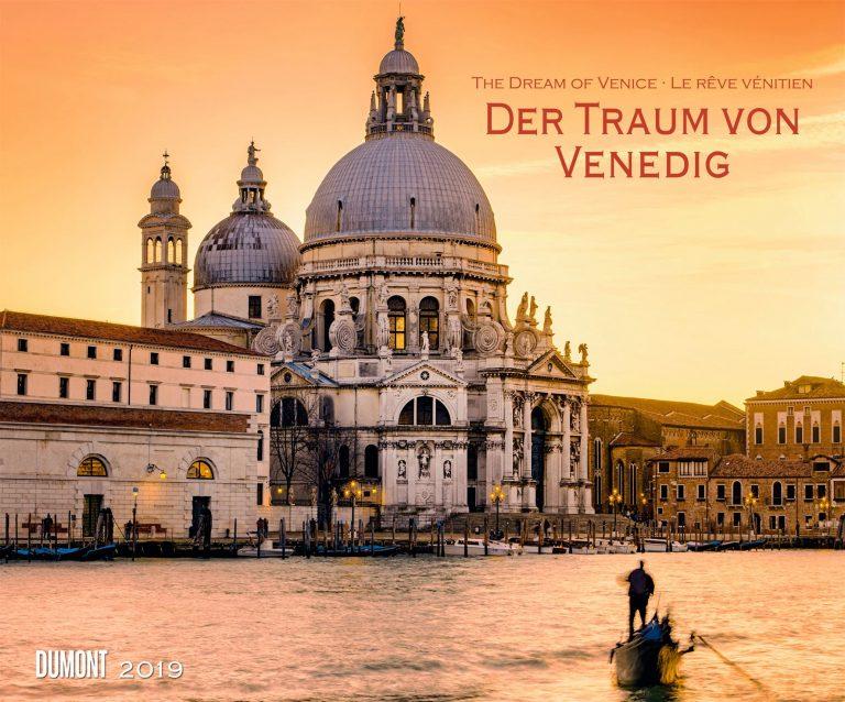 Der Traum von Venedig in einem Dumont-Kalender für 2019