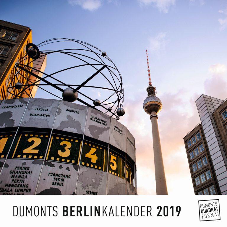 "Kunterbuntes Berlin, kunterbunter ""Dumonts Berlinkalender 2019"""
