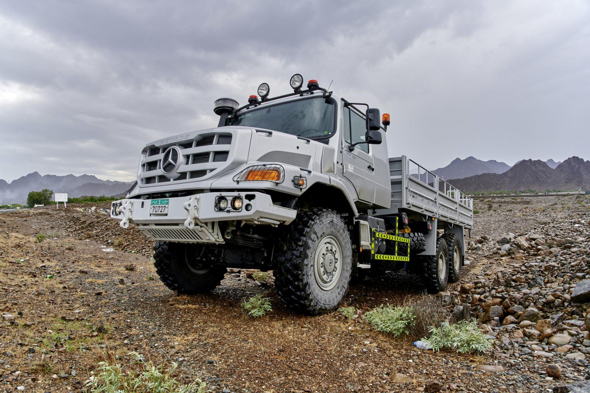 Der Zetros, ein Lastkraftwagen für den schweren ...
