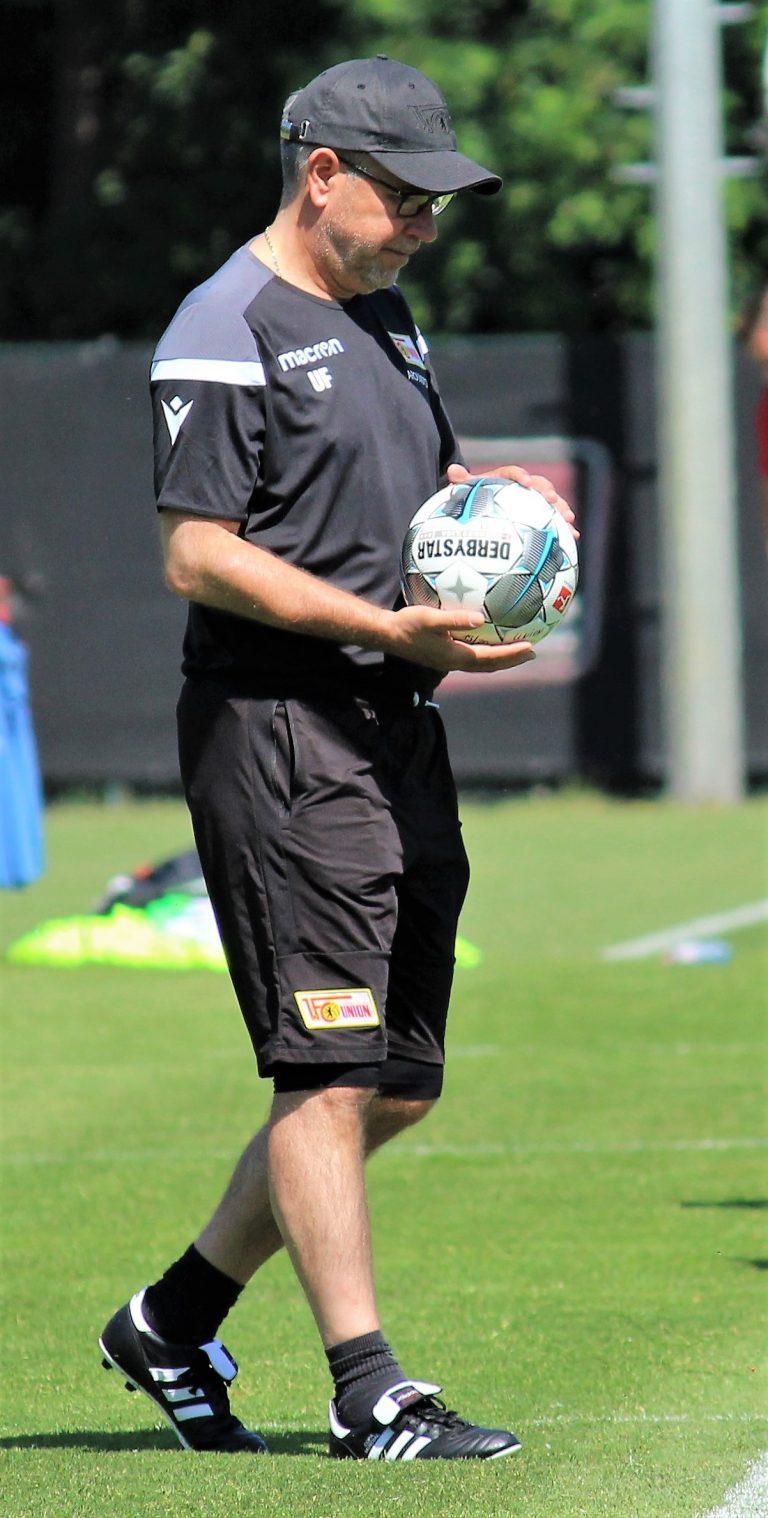 Publikumsliebling im Stadion An der Alten Försterei – Trainer Urs Fischer besitzt den Union-Instinkt