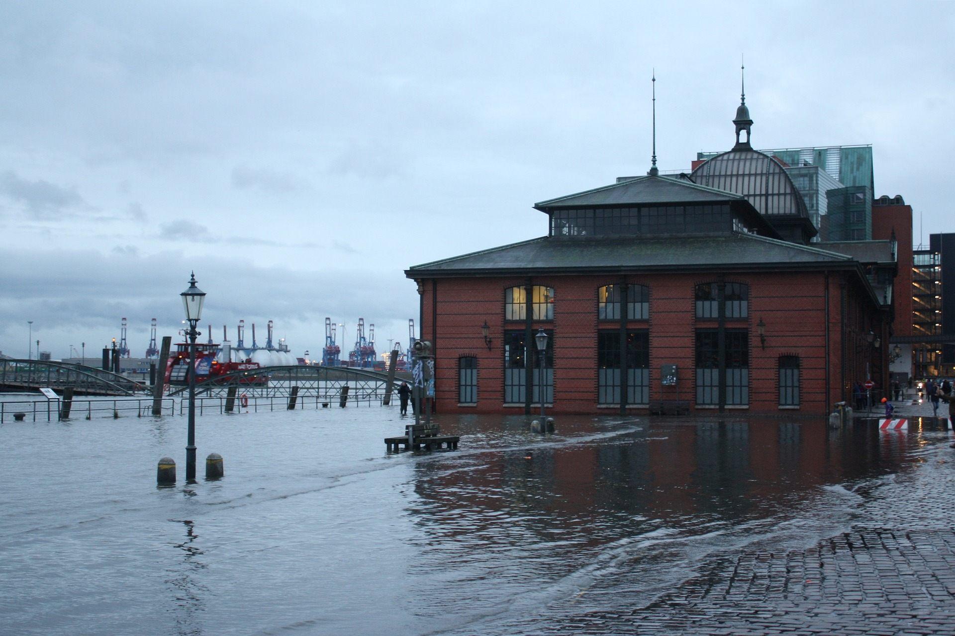 Hochwasser Hamburg